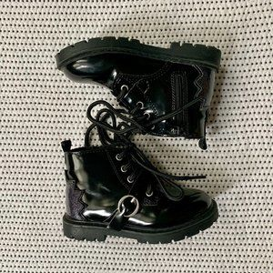 Zara Patent Boots | 6.5 Toddler